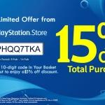 PS Store Thai - แจก Discount Code ลด 15%