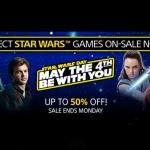 PlayStation Store US - STAR WARS ลด 50%