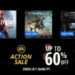 PSN Store US - EA Action Sale ลดสูงสุด 60%