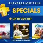 PS Store US - PlayStation® Plus Specials ลดสูงสุด 75%