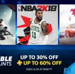 PlayStation Store US - Double Discounts ลดสุงสุด 60%