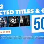 PlayStation Store Thai - ซื้อเกมทุกๆ 2 เกม ได้ลด 50%