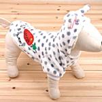 เสื้อสุนัขแครอทเทา (ไซส์ S,XXL)