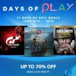 PlayStation Store US - DAYS OF PLAY Sale ลดสุงสุด 70%