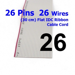26 Pin 26 Wire Flat IDC Ribbon Extension Cable Cord