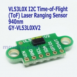 VL53L0X I2C Time-of-Flight (ToF) Laser Ranging Sensor GY-VL53L0XV2 Laser Distance Module 940nm