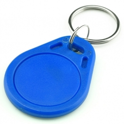 S50 RFID 13.56 Mhz IC Tag Token Key Ring IC cards Blue