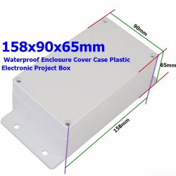 158*90*65mm Waterproof IP65 Enclosure Box ABS Plastic Case