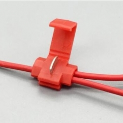 JY-811 (RED) Wire terminals quick wiring connector cable clamp (22-18 AWG)