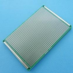 8x12cm 8*12cm แผ่นปริ๊นอเนกประสงค์ Double Side Prototype PCB diy Universal Printed Circuit Board (PCB)