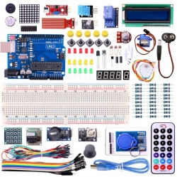 UNO R3 KIT Upgraded version for Arduino Starter Kit RFID Learn Suite Stepper Motor +I2C LCD1602 ชุดคิท
