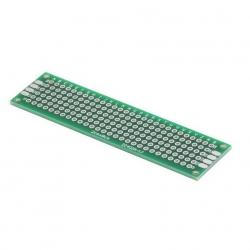 2x8 cm แผ่นปริ๊นอเนกประสงค์ 1 Side Prototype PCB diy Universal Printed Circuit Board (PCB)