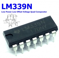 LM339N Low Power Low Offset Voltage Quad Comparator