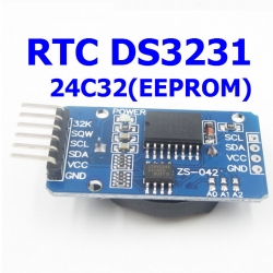 RTC DS3231 AT24C32(EEPROM) I2C Module Precision Clock Module รวมแบต CR2032