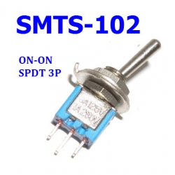 SMTS-103 3A 125VAC ( ON-ON /SPDT/ 3P)