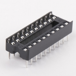 DIP20 (Socket Dip Solder Type20 Pins, Pitch 2.54mm)