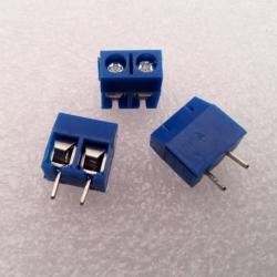 2 Poles 2 Way KF301-2P Screw Terminal Block Connector 5.0mm Pitch