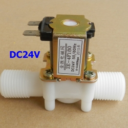 "24V DC 1/2"" Solenoid Valve For Water Air Normally Closed (NC)"