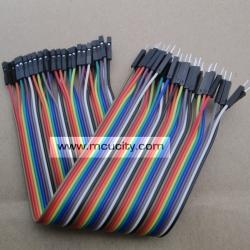 สาย (2.54mm) 40 pin to 40 pin (Female-Male) 20 cm