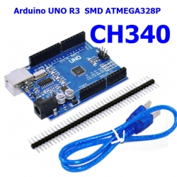 Arduino UNO R3 CH340G for Arduino Compatible พร้อมสาย USB 30 cm