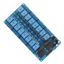 16-Channel 12V Relay Module for PIC ARM AVR DSP Arduino MSP430 TTL Logic