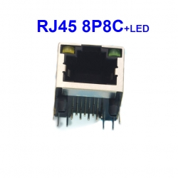 RJ45 socket 8P8C with LEDs