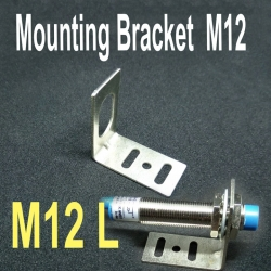 Mounting Bracket Support Unit for M12 Proximity Sensors L-Type