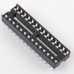 DIP28 (Socket Dip Solder Type 28 Pins, Pitch 2.54mm)