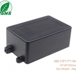70*45*30mm Black plastic housing