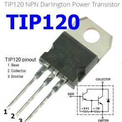 TIP120 5.0 A, 60 V NPN Darlington Bipolar Power Transistor