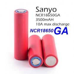 Sanyo NCR18650GA 3500mAh 3.7V 18650 Lithium Battery