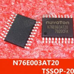 N76E003AT20 (8051) FLASH 18KB SRAM 1KB TSSOP20