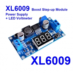 XL6009 Boost Step-up Module Power Supply LED Voltmeter