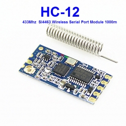 433Mhz HC-12 HC12 SI4463 Wireless Serial Port Module