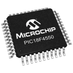 PIC18F4550 (TQFP-44) 32kB Microcontroller with USB