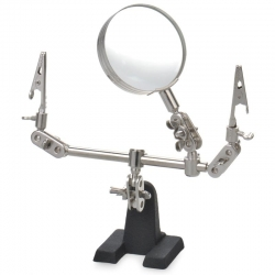 5x zoom BEST-168Z Desktop Magnifier magnifying glass with clip for cell phone SMD repair soldering tool