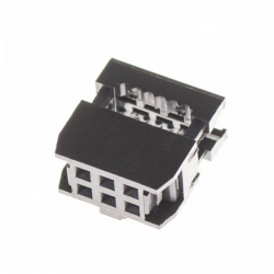 2x3 pin IDC Socket Female (Pitch 2.54mm) สำเนา