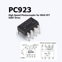 PC923 High Speed Photocoupler for MOS-FET / IGBT Drive