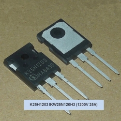 IGBT K25H1203 IKW25N120H3 1200V 25A (TO-247)