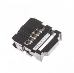 2x5pin IDC Socket Female (Pitch 2.54mm)