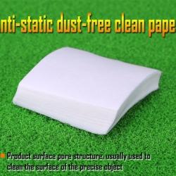 Anti-static lint-free wipes dust free paper dust free paper 50pcs fiber optic tools 100*100(MM)