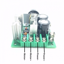 12V-40V 10A DC Motor Speed Controller Switch Governor PWM Infinitely Variable Speed Regulator High Efficiency
