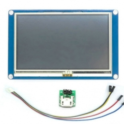 "4.3"" Nextion NX4827T043 HMI Intelligent Smart Serial Touch TFT LCD Module Display Panel For Raspberry Pi Arduino"