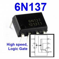 6N137 High speed,Logic Gate