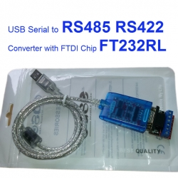 USB Serial to RS485 RS422 Converter with FTDI Chip FT232RL