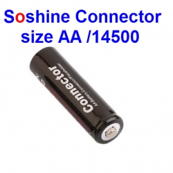 1 pcs Soshine Connector size AA /14500