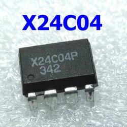 Xicor X24C04 (DIP-8l) EEPROM I2C 4Kbit (512 x 8bit)