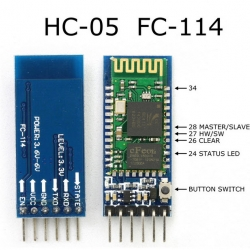 HC-05 Bluetooth Serial Module RS232 TTL for Arduino