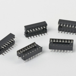 DIP16 (Socket Dip Solder Type 16 Pins, Pitch 2.54mm)