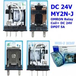 MY2NJ 24V OMRON Power Relay